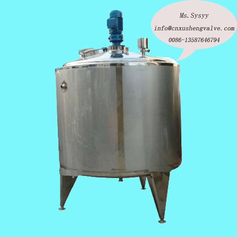 Tri Mix Tank : Sanitary tri layer mixing tank wenzhou xusheng machinery