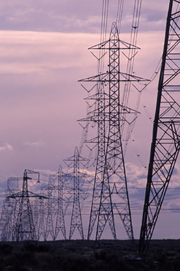 230kv lattice power transmission line angle steel tower