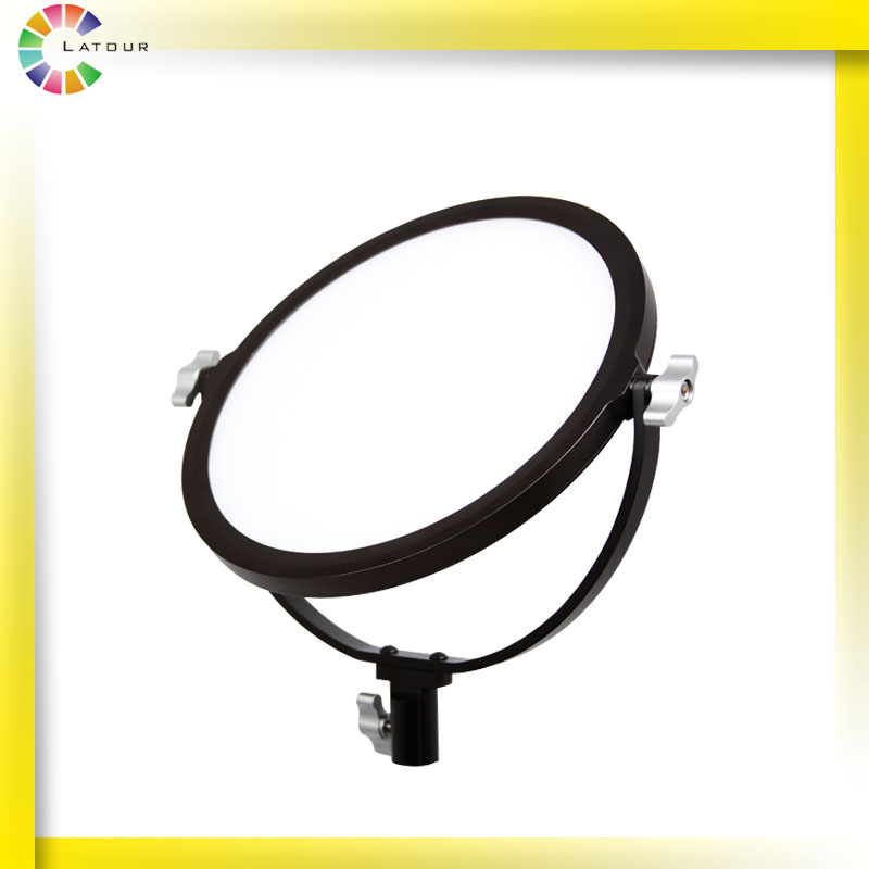 LED camera lights round side light leds OLED-360D/S lithium battery is adjustable high double color