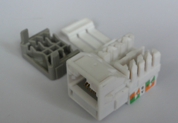 Systimax Cat6 UTP(unshielded) rj45 keystone jack