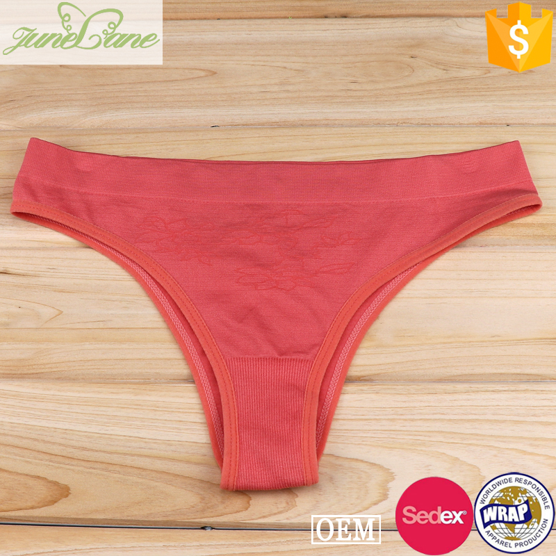 Sweet simple design children underwear seamless girls panties