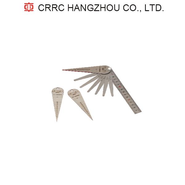 Rail gap CRRC Rail joint ruler