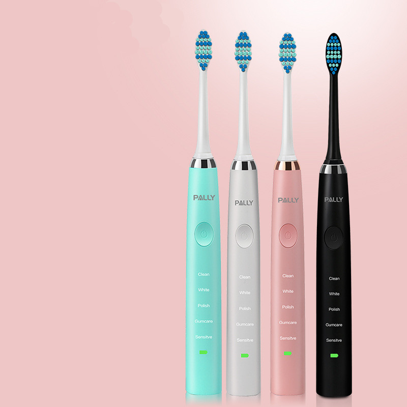 IPX7 Rechargeable patented Sonic Electric Electrical toothbrush