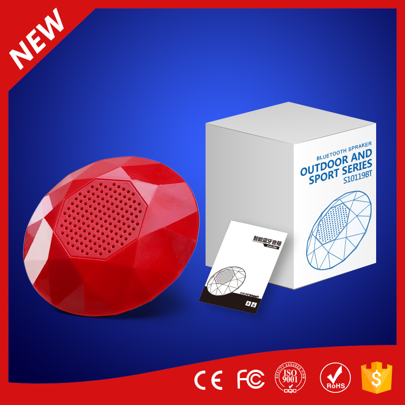 new product 2017mini portable bluetooth speaker for moblie /pc