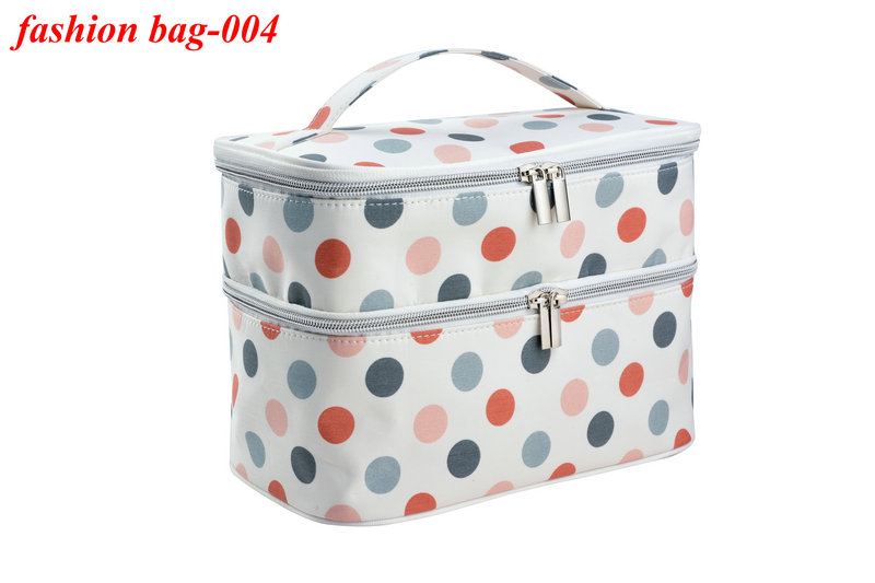 Travel Double Layer Cosmetic Toiletry Bag Latest Design Microfiber Makeup Bag