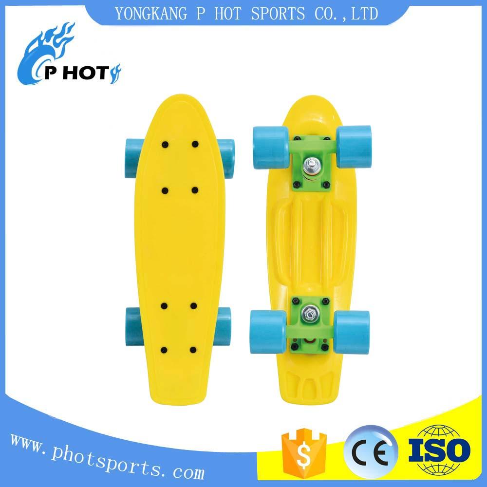 17 inch plastic PP fish board skate board New Design Skateboard