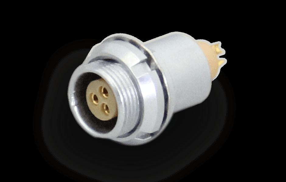 lemo B series mutipins connector-socket: EEG-0B-303-CLL