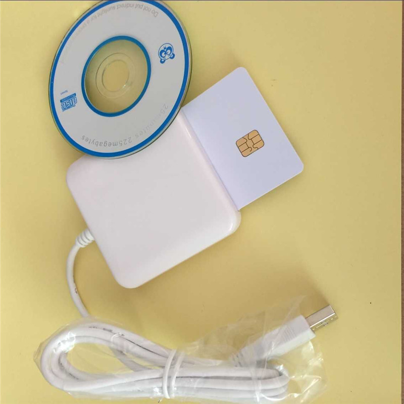 EMV Chip Card Reader Writer ACR38U_IPC USB Support CAC & PIV & CPU cards