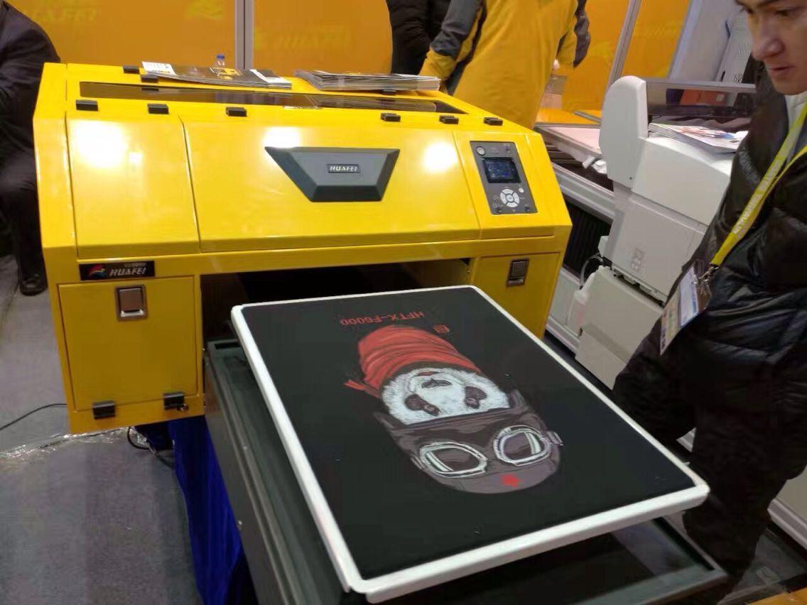 A2 DTG flatbed t shirt printer