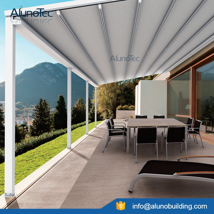 Outdoor PVC Retractable Roof