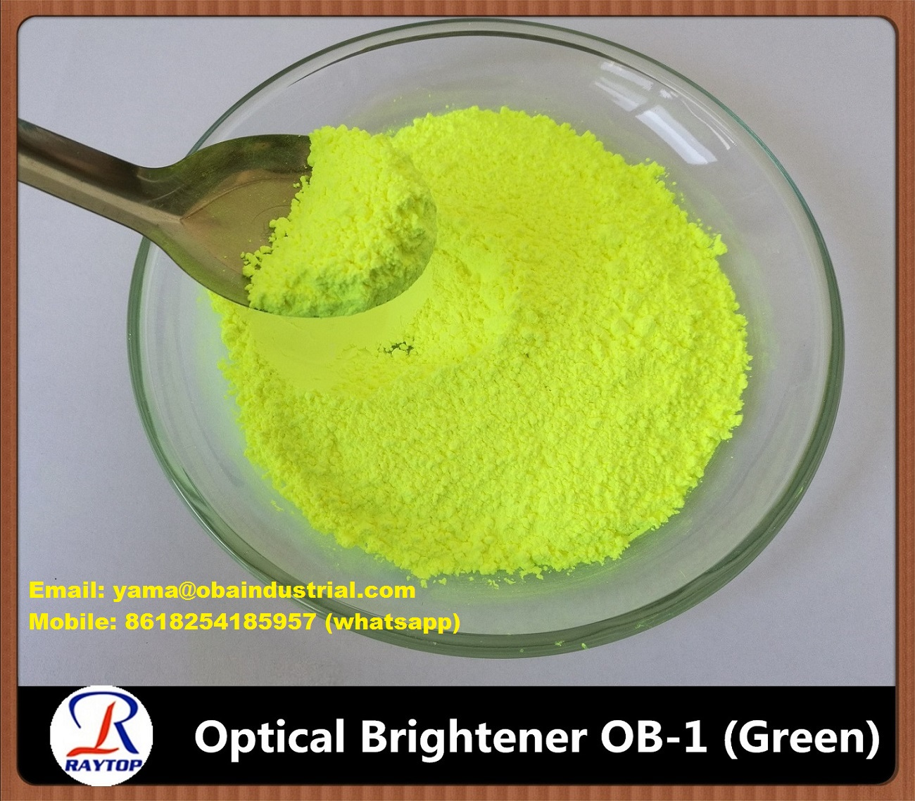 Fluorescent Whitening Agent OB-1 Greenish for masterbatches with high quality