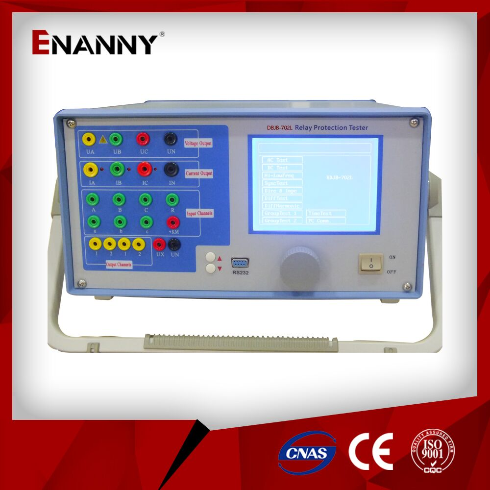 DBJB-702L Three phase relay protection tester