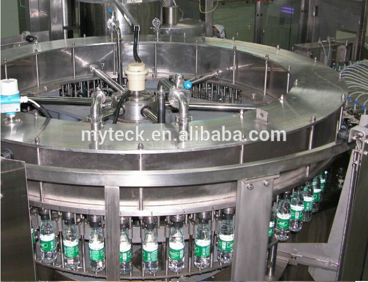 3 in 1 water filling monobloc /automatic washing filling capping machine