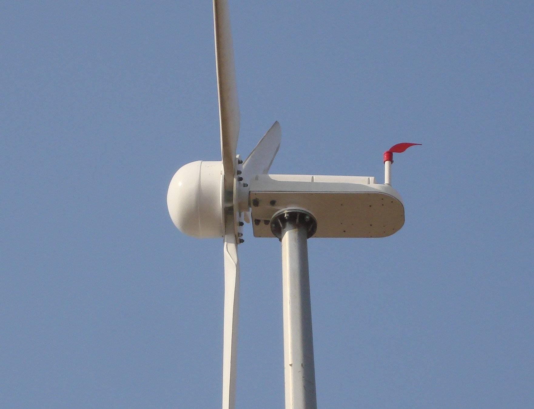 Hummer H4 6 3kw wind power turbine off grid wind turbine home use