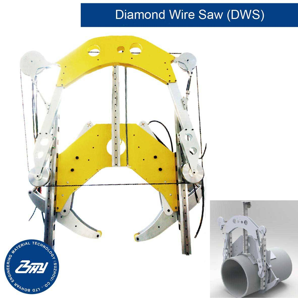 Hydraulic-Diamond-Wire-Saw-DWS-Series- - Bohyar Engineering Material ...