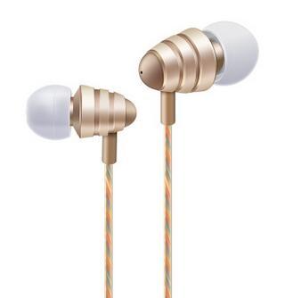 spinning top earphone fashion headphone 2017 best sellers metal earphone mobile-phone headphone