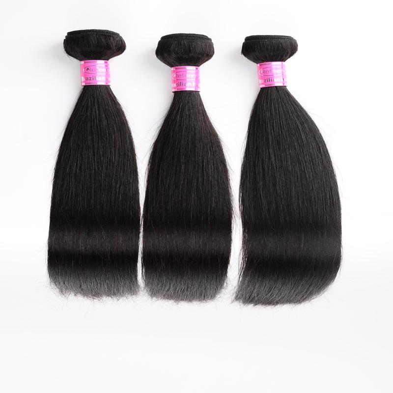 Peruvian Human Hair 3 Bundles Straight Virgin Hair Hot Sale Unprocessed Virgin Human Hair Extensions