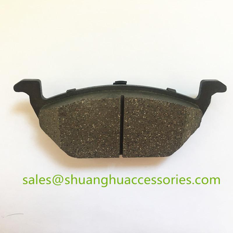 D768 Brake pad for Audi,Skoda auto car.ceramic friction material,ISO9001:2008