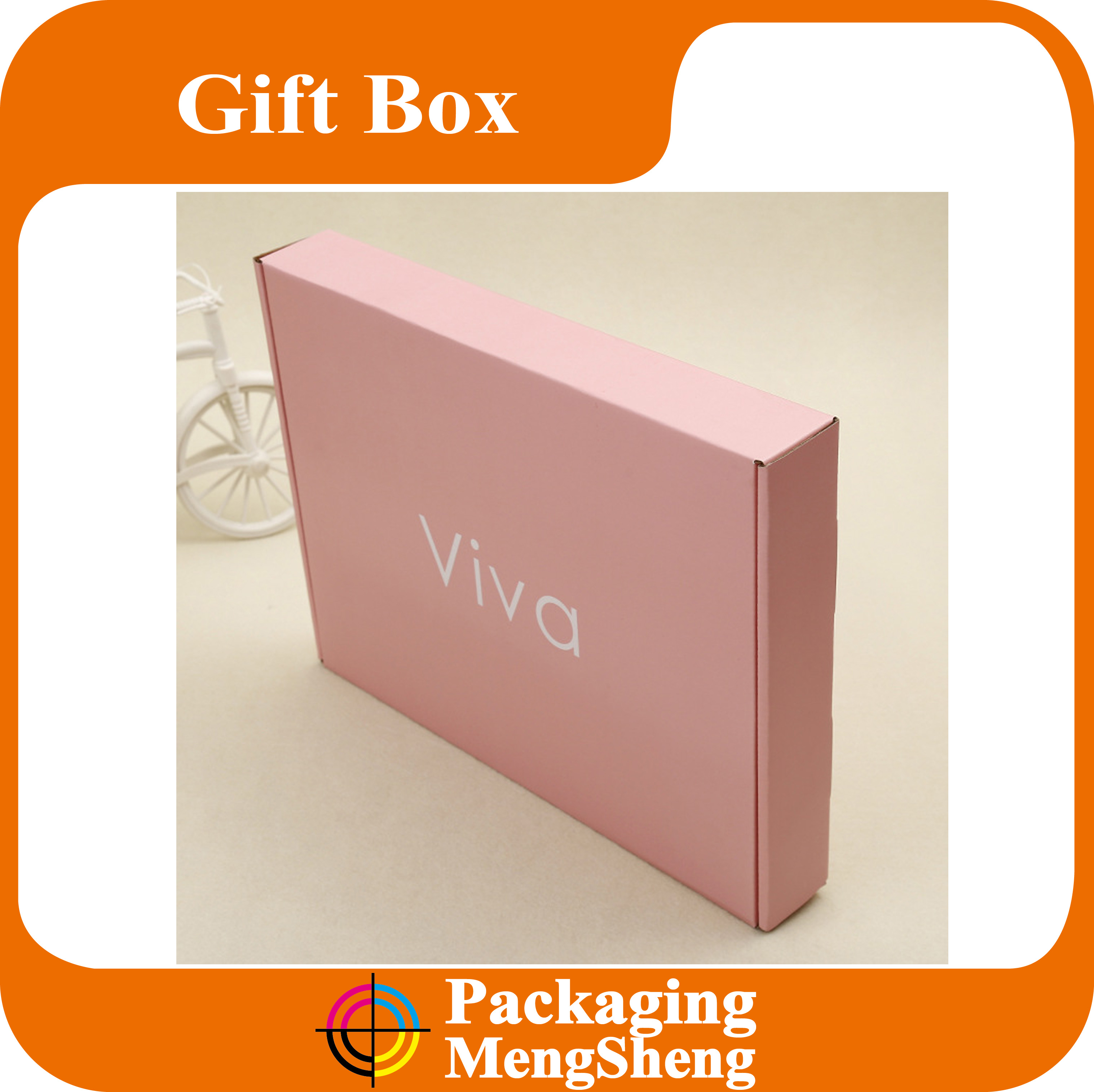 Printed Shipping Boxes, Corrugated Box Packing, Personalized Logo Postage Mailing Box