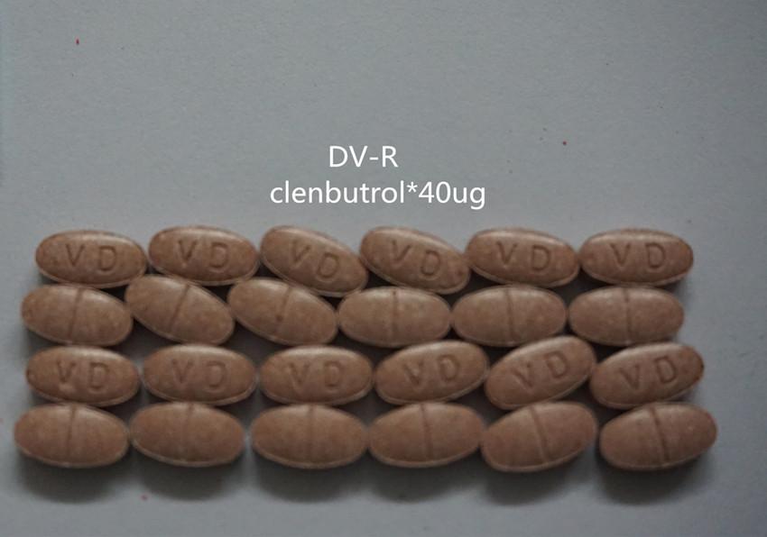 Clenbutrol Oral Steroid Tablets (40ug/Piece,100P/Bottle)