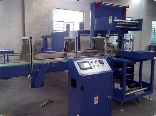 Automatic shrink wrapping machine/bottle packing machine