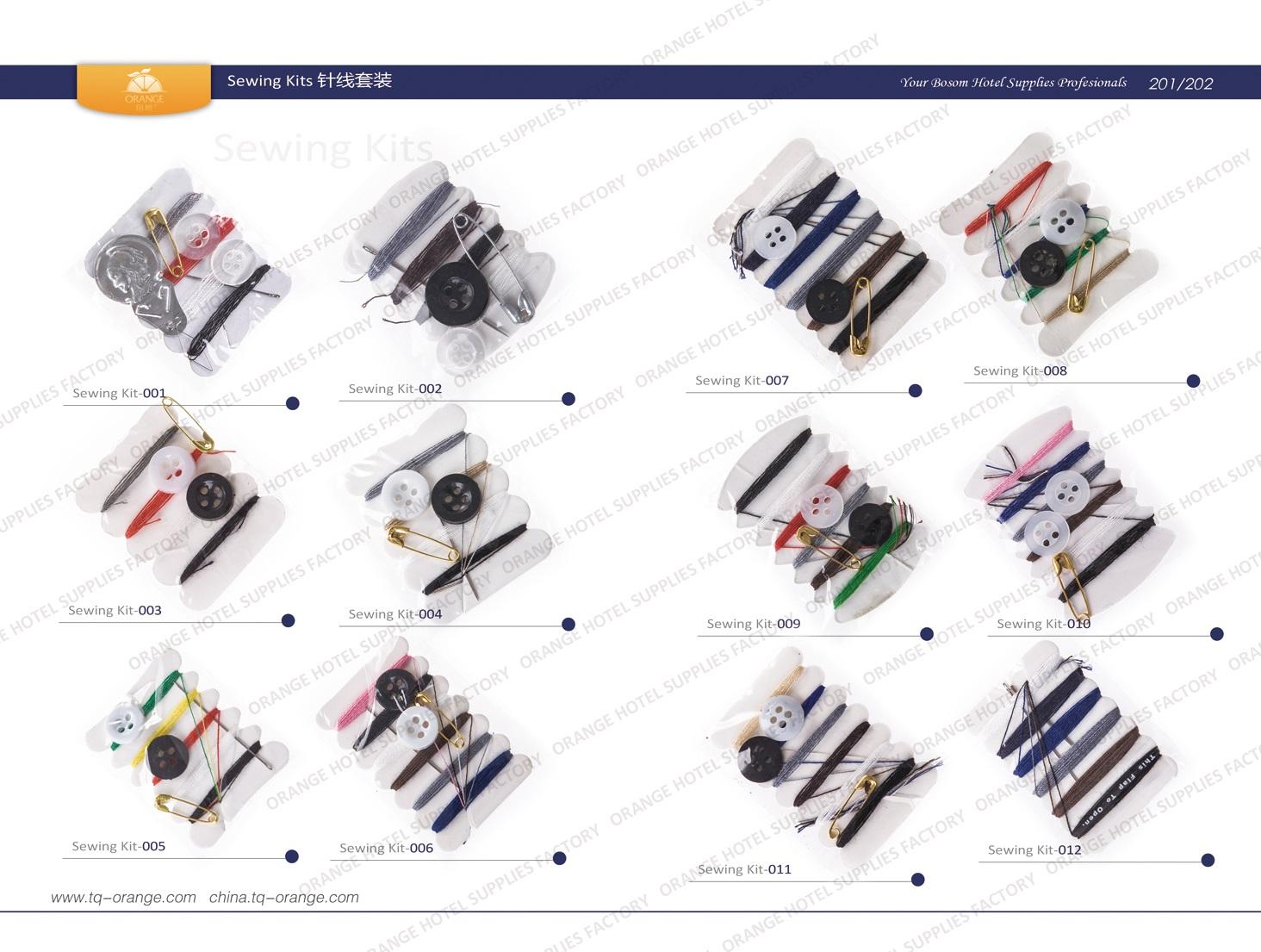 Sewing kit 001~012