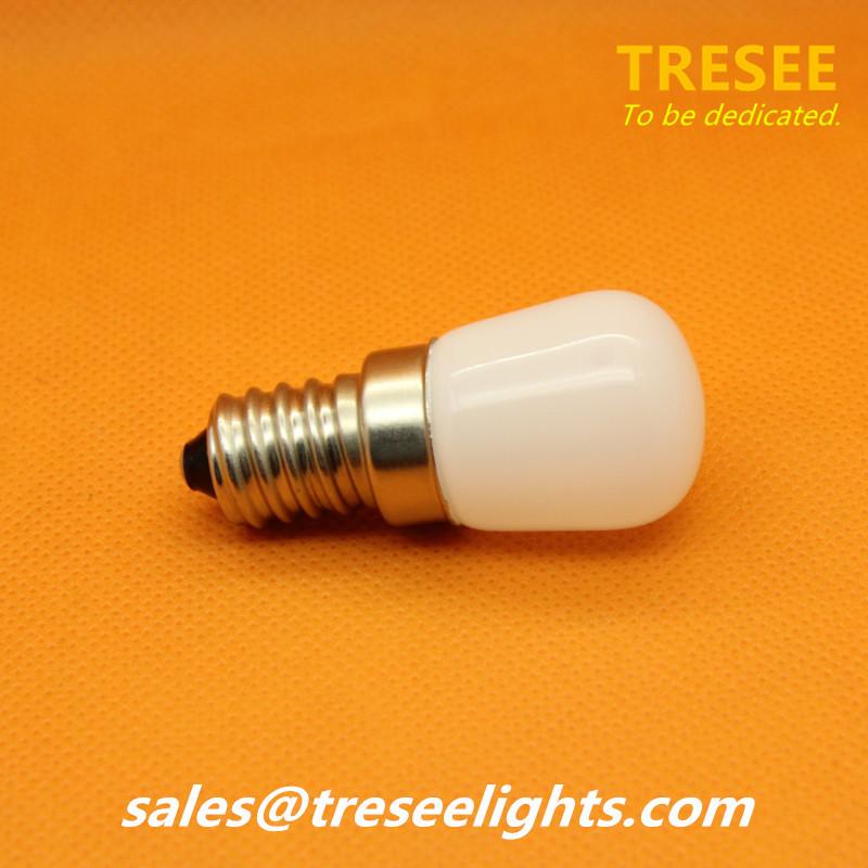 E14 Base Fridge Light 2W Freezer Lamp Refrigerator Bulb COB Chip