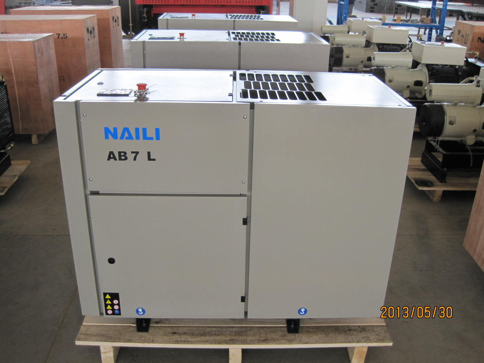 Dental NAILI Rotary Vane Air Compressor 300 bar