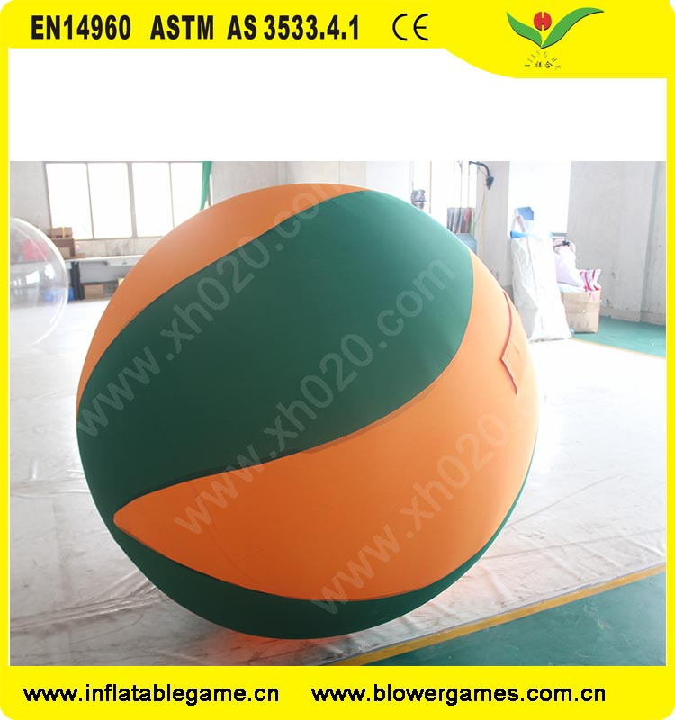 summer beach air tight inflatable ball grame giant volleyball