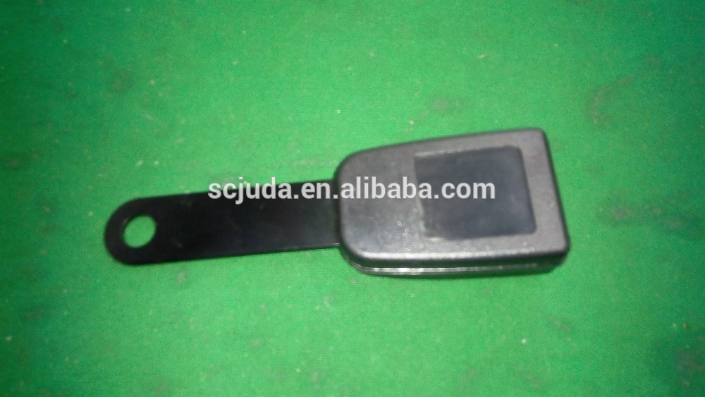 Universal straight metal tongue Seat belt Buckle extension