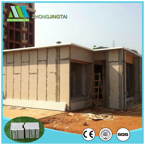 Nonmetal fiber cement eps sandwich panel for interior wall and exterior wall