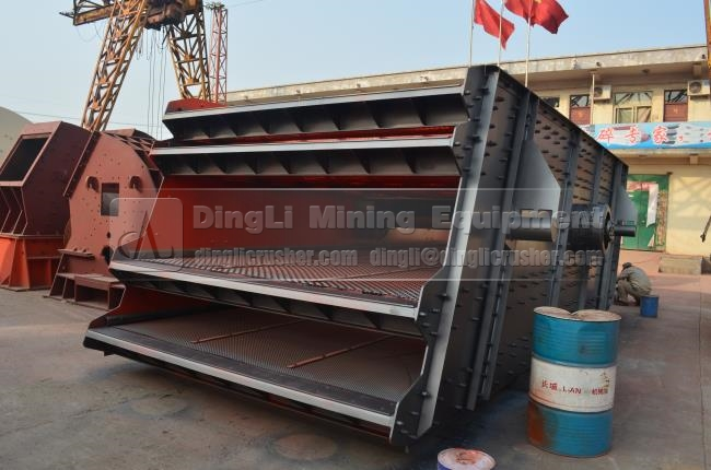 Environmental Protection carbon steel rock crusher screen