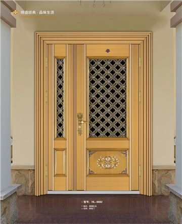China factory price steel house gate design HL-9682