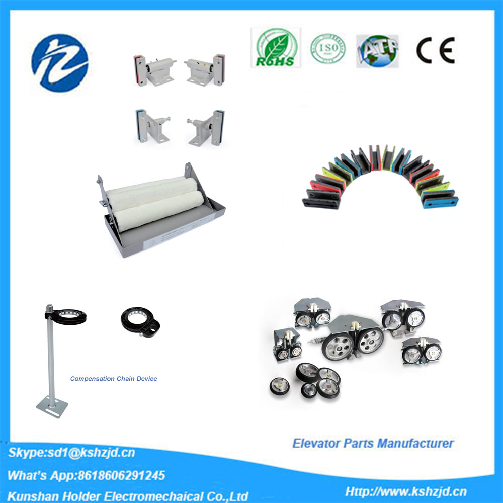 Elevators/Escalaters parts manufacturer for guide shoes ,Oil Cup,Compensation chain guide device
