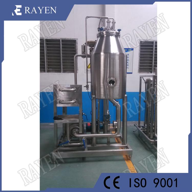 Stainless steel juice degassing machine milk vacuum degasser