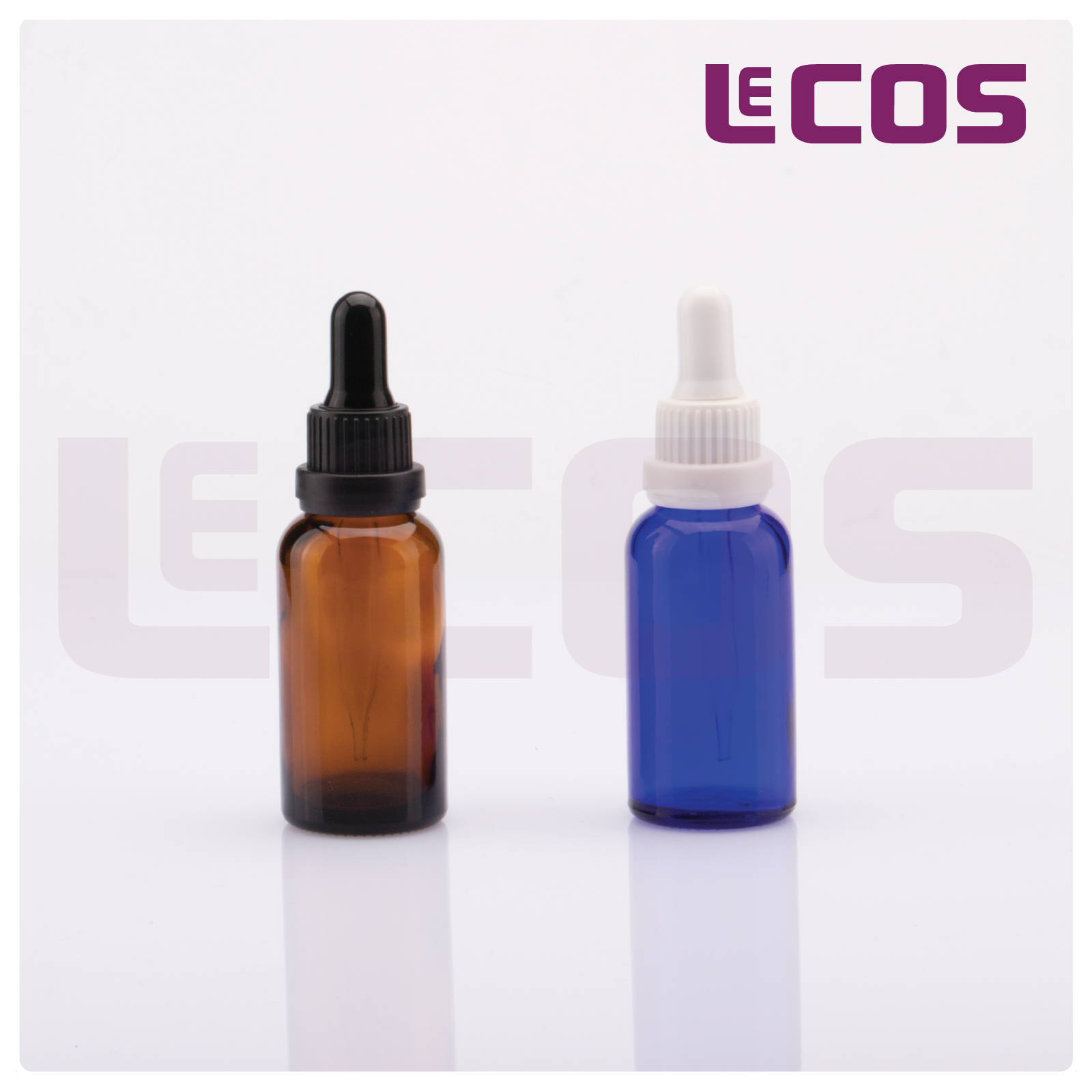 30ml essential oil glass bottle with plastic dropper