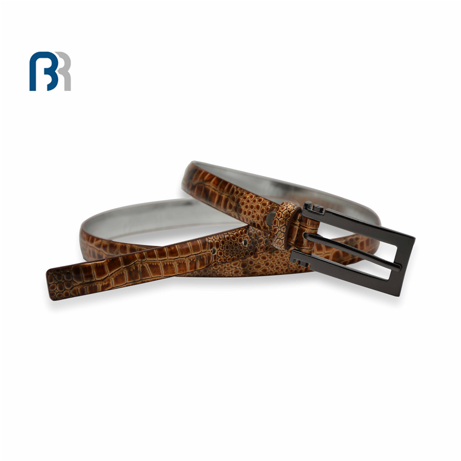 Ladies Snake Surface Feather Belt