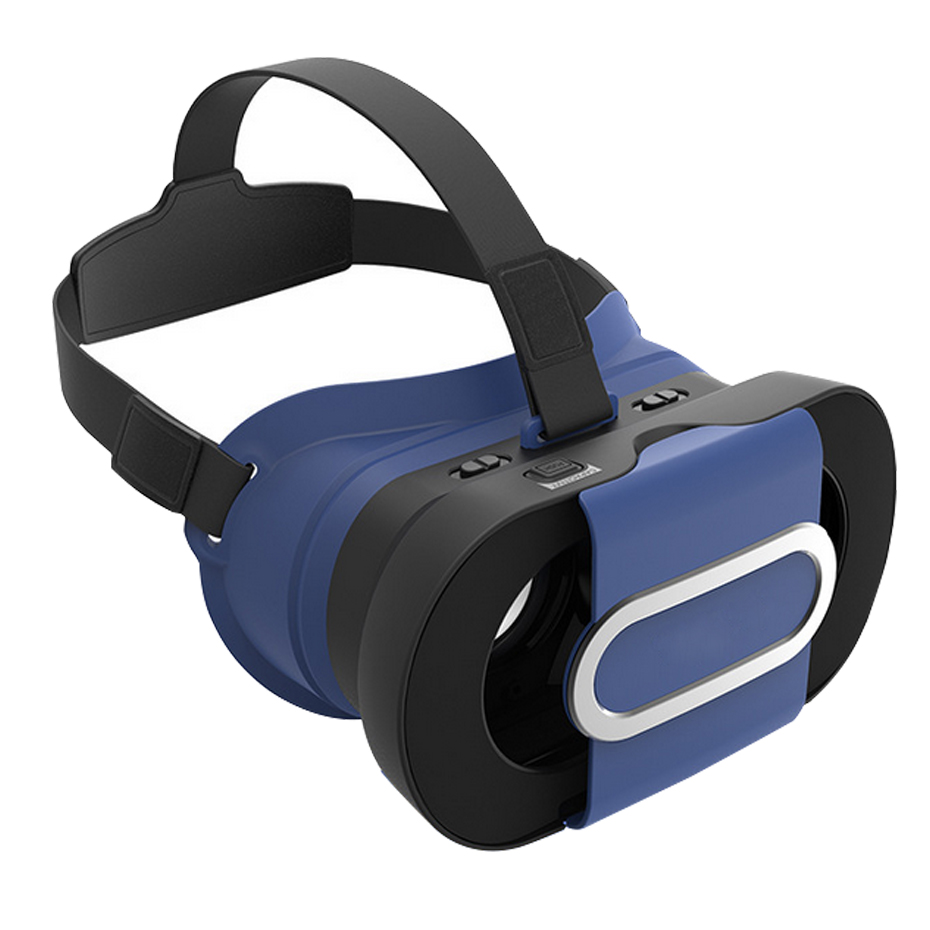 Plastic Virtual Reality 3D Video Glasses Vr Box 3D Glasses for Android Ios 4.3-6.5