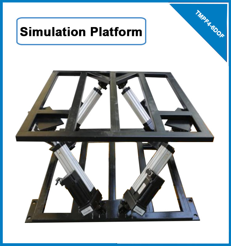 New 110v ac linear actuator 6dof motion platform for driving simulator TMPF4-6DOF