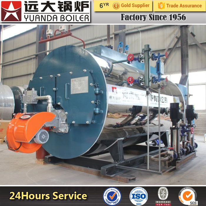 WNS Steam Gas Oil Biomass Fired Steam Water Boiler