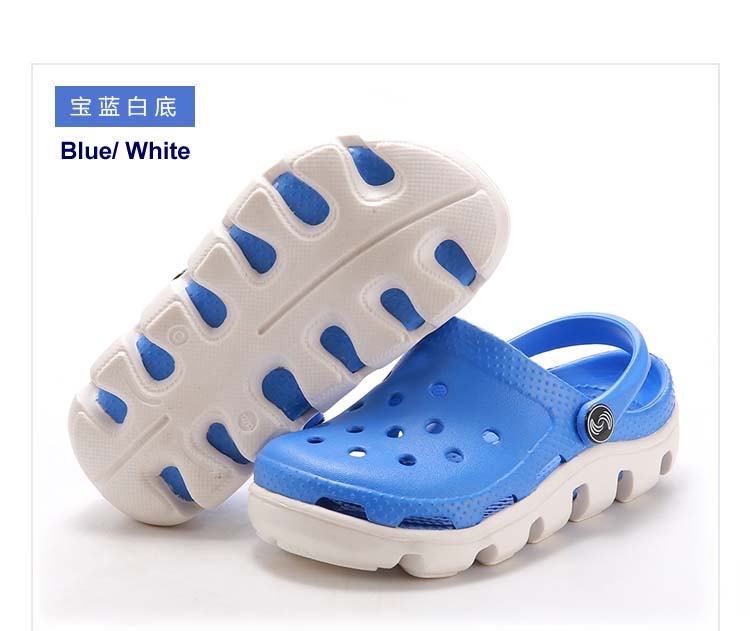 Kids Clogs EVA Garden Shoes Good Quality 5 color