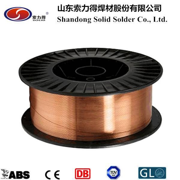 ER70S-6/SG2 mig welding wire co2 gas shield welding wiremanufacture ...