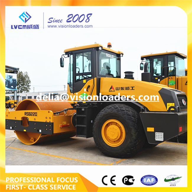 SDLG Vibratory Road Roller RS8220 China RS8220 Road Roller for sale
