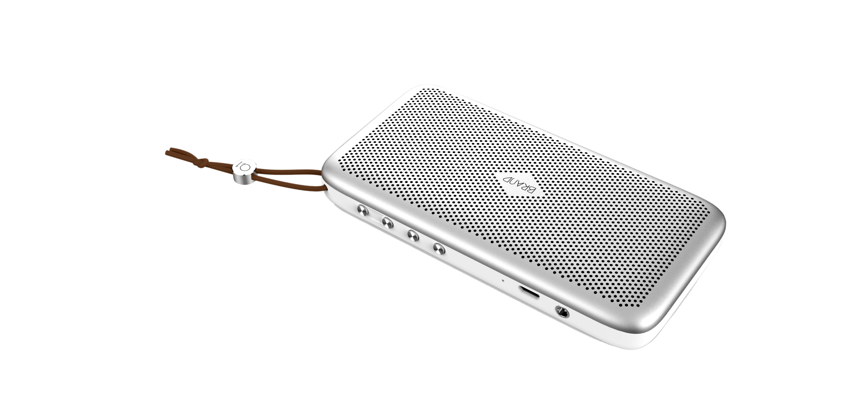 Metal Case Portable Ultra-thin Small Bluetooth Speaker