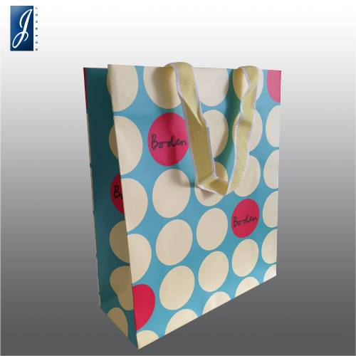 Customized small  paper bag for boden