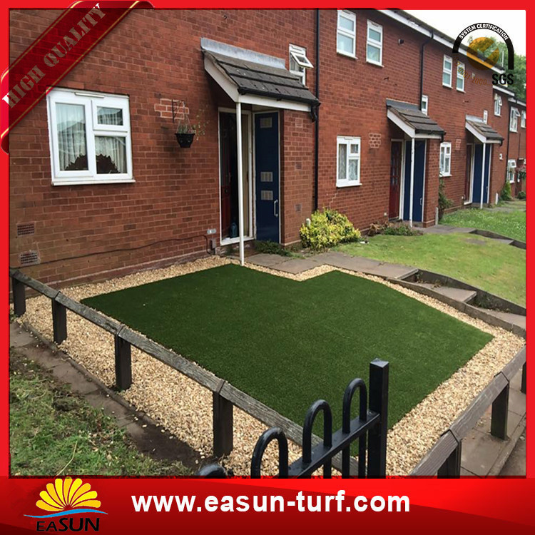 wholesale golden suppiler synthetic artificial grass turf landscaping garden-Donut