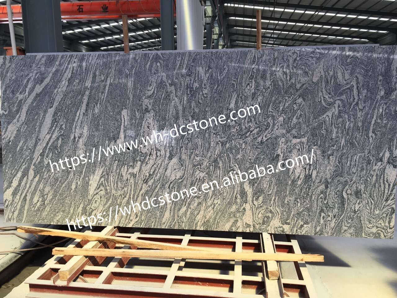 China Juparana Granite Big Slabs