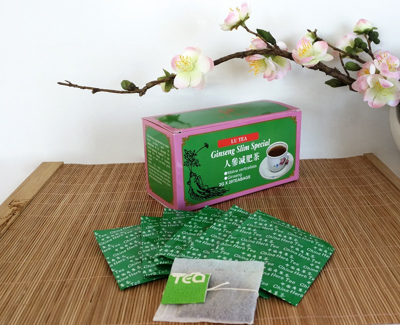 Chinese Ginseng Slim Special Herbal tea bag
