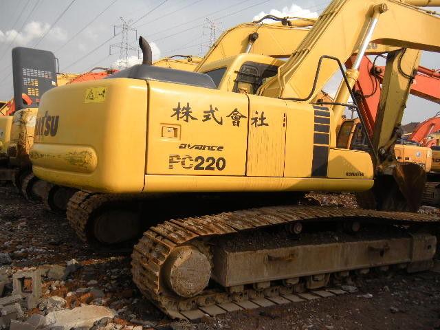 Used komatsu PC220-6 excavator