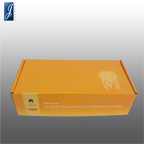 Customized medium paper box for INTERDENTAL